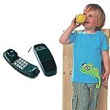 ROCK1ON Telefon Spielzeug Simuliertes Telefon beweglich für Kinder Spielturm Spielhaus Spielanlage...