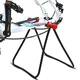 Lpinvin Fahrradreparaturständer Fahrrad-Montageständer Einstellbare U-förmig Bike Repair...