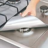 DragonPad Lanlan 4wiederverwendbar Aluminium Folie Gasherd Brenner Cover Protector rutschsicher...