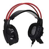 YOUTHINK All-in-One-Headset für kabelgebundenes Spiel HD-Kopfhörer für PC/PS3/PS4/XBOX 360/XBOX...