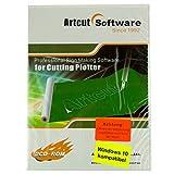 Artcut 2009 Pro Schneidesoftware Vollversion für Plotter Schneideplotter