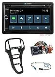 caraudio24 Blaupunkt Oslo 590 DAB Bluetooth 2DIN SD DAB USB MP3 Autoradio für Opel Astra J ab 12/09...