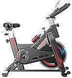 YANJ Spinning Bike, Indoor Cycling Heimtrainer, Verstellbarer Sitz Multi-Speed-Bewegung Anpassung,...