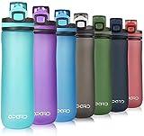 Opard Trinkflasche Sport 600ml - Wasserflasche aus Tritan BPA-Frei, auslaufsichere Sportflasche,...