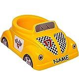 alles-meine.de GmbH Töpfchen / Nachttopf / Babytopf - inkl. Name - Auto - gelb - Bieco - groß -...