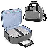 Luxja Beamer Tasche, Tragbar Projektor Tasche für Transport und Aufbewahrung Beamer (Kompatibel mit...