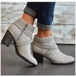 Mode Stiefel Damenschuhe in Großen Größen Schlauchstiefel Trend Passend zu Allen Stiefeln Kurze...