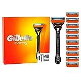 Gillette Fusion 5 Rasierer Herren mit 11 Rasierklingen mit Anti-Irritations-Klingen für bis zu 20...