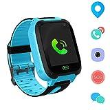 Jaybest Kid Smart Watch LBS Tracker, 1.44' Touch LCD Kinder Smartwatch mit SOS Kamera Taschenlampen...
