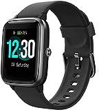 Smartwatch, Fitness Armband Voll Touchscreen 5ATM Wasserdicht, Damen Herren Smart Watch für Android...