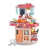 MehuangFeng Küche Spielzeug Küche Kochen Spaß Simulationsspiel Raumspray for Jungen Und Mädchen...