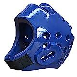 JXS-Outdoor Taekwondo Kopfschutz - Kickbox Helmet - NBR Foam Material, PU-Beschichtung,...