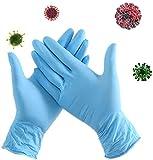 Dsnmm K99 100Pcs Einweg-Nitril-Handschuhe antiinfektisen Antiallergy Isolation Germs...