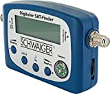 SCHWAIGER -5170- SAT-Finder digital/Satellitenerkennung/Satelliten-Finder mit integriertem Kompass...