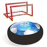 Vegena Air Power Fußball, Hover Power Ball Indoor Fußball mit Fußballtor LED Beleuchtung, Soccer...