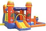 SYLOZ Outdoor-Kinder-aufblasbare Schloss-Türsteher, Bounce-Haus for Kinder und Kleinkind,...