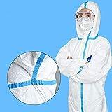 NMYYV Overalls Isolation Kleidung Antistatische Overalls Tyvek medizinische Einweg-Kleidung...