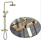 ZGQA-GQA Golden Shower Set Europäische und amerikanische Modelle Heiß- und Kaltwasser-Mischventil...