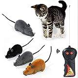 FYDYB Katzenspielzeug mit Fernbedienung, lustig, niedlich, kabellos, Mehrfarbig, 3 Stck