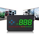 Universelles GPS-HUD-Head-Up-Display für Autos, OBD MPH-Geschwindigkeitswarnung HD-Projektion,...
