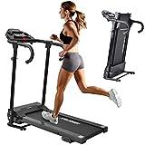 Merax Laufband Klappbar Elektrisches Laufbänder Fitnessgerät Verstaubar Kompakt mit LCD-Display...