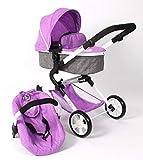 Bayer Chic 2000 597 50 3-in-1 Kombi Lia, Puppenwagen-Set mit Autositz, Babywanne und Sportsitz,...