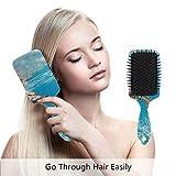 Sea Turtle Haarbürste, umweltfreundlich, zum Entwirren der Haarbürste für Frauen, Männer und...