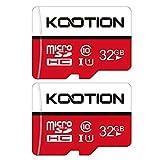 Kootion Micro SD Karte 32GB Speicherkarte MicroSDHC Class 10 Mini SD Karte UHS-I U1 A1 Memory Cards...