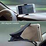 Universal Antiskid Car Phone Holder Drehbarer Kfz-Armaturenbrett Handy GPS-Halterungsclip...