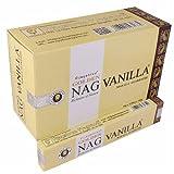 Vijayshree - Golden Nag Vanilla Räucherstäbchen - Weihrauch Duftkomposition | Sandelholz |...