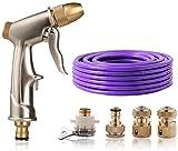 Schlauch-Düse, Düse-Hochdruckwasserpistole, Easy Flow Control Einstellung und ergonomische...