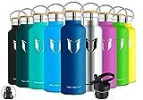 Super Sparrow Trinkflasche Edelstahl Wasserflasche - 620ml - Isolier Flasche mit Perfekte...