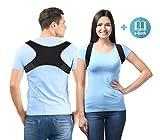 Relaxways Haltungstrainer, Geradehalter zur Haltungskorrektur, Rückenbandage Rückenstütze für...