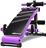 RPOLY Hantelbank Verstellbar, Multifunktion Hantelbank Ganzkörpertrainer Supine Board for Full Body...