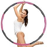 Hula Hoop Reifen zum Abnehmen, Reifen mit Schaumstoff, Hula Hoop für Erwachsene & Kinder, Das...