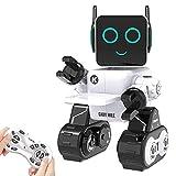 HBUDS Roboter Spielzeug fr Kinder, Intelligent Ferngesteuerter Roboter mit LED-Licht Touch &...