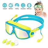 Kinder Schwimmbrille Schwimmbrillen für Kinder Taucherbrille Swimming Goggles, Anti Nebel UV-Schutz...