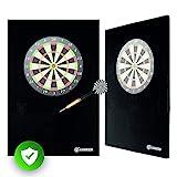 Caruccio Dart Surround XXL Catchring | Der extra große Wandschutz für Deine Dartscheibe | Premium...