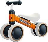 YGJT Kinder Laufrad ab 1 Jahr   Fahrrad Spielzeug für 10-24 Monate Junglen und Mädchen   Rutschrad...