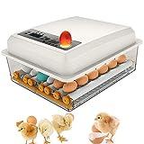 16 Eier Brutmaschine Vollautomatisch Inkubator Hühner Digitales Automatische Wachtel Brutautomat...