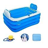 HGbeauty Faltbare badewanne Erwachsene Faltende Badewanne Bath Barrel aufblasbare kann sitzen liegen...