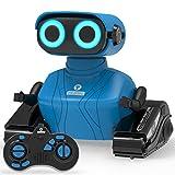 REMOKING RC Roboter Kinder Spielzeug, 2,4 Ghz Ferngesteuertes Auto mit Ton und Licht, Blaues Roboter...