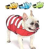 Mklhgty Hundeschwimmweste, Ripstop-Sicherheitsweste für Hunde zum Schwimmen mit überlegenem...