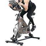 QULONG Heimtrainer Fitness Bike Trainer Indoor Verstellbares Spinning Bike Haushalt Magnetron...