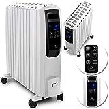 KESSER 2500W Ölradiator mit digitalem Display Fernbedienung - elektrischer, energiesparender...