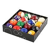 WXH Billard/Pool Balls Regulation, Premium Profi Billardkugel Billardkugel Set, komplett mit 16...