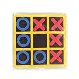 duoying Brettspiele Noughts and Crosses Familie Gehirn Teaser EVA Spielzeug Spielsets Tic Tac Toe...