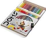 Doms Buntstifte mit weichem Kern für Kinder und Erwachsene, Malbücher, Zeichnen, Schreiben,...