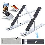 dodocool Laptop Ständer, Tragbarer und Höhenverstellung Aluminium Notebook Ständer, für MacBook...