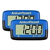 2X Needit Park Micro Digitale Parkscheibe Mikro elektronische Parkuhr mit offizieller Zulassung...